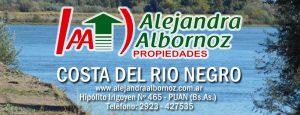 EN VENTA: 1550 has en costa del Río Negro