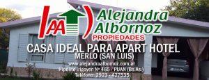 EN VENTA: Casa ideal para Apart Hotel en Merlo (San Luis)