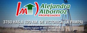 EN VENTA: 3760 Has a 120 Km. de Victorica (La Pampa)